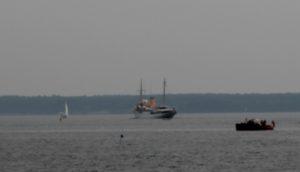 Dannebrog skal bruge nogle dage i Østersøen.
