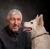 Byrådsmedlem Svend Erik Petersen med hund.