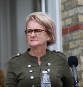 Aase Nyegaard ser 2017-planen som nøglen til fremtiden.