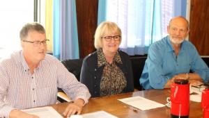 Socialdemokraterne, Fælleslisten og SF præsenterede det fælles budget.