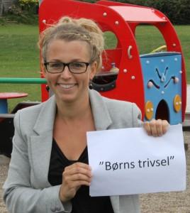 Tine Knudsen er børnenes stemme.