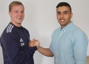 Søren Muusmann og Hisham Al-Bakaa vil fortsætte samarbejdet i Byrådet.