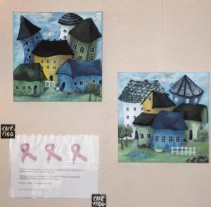 Billederne er malet af Karen Anne Jørgensen.