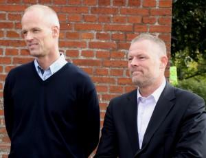 En højhastighedsindsats fra Morten Manét og Michael Holst hjalp processen til Hulen på vej.