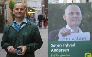 Søren Tylvad Andersen i Perlegade.