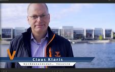 Claus Klaris, Venstre.