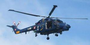 Helikopter fik to turister op fra vandet ved Kegnæs.