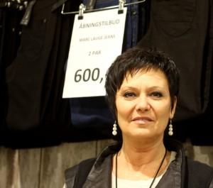 Butikschef Marion Lippert er klar med sit første modeshow i Mapp Store.