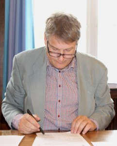 Peter Hansen kommer med ideer, som kan få Sønderboprg højere op på DI-målinger.
