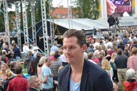 Rasmus Seebach til koncert i Augustenborg. Foto: Ole Kæhler