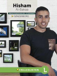 Hisham Al-Bakaa vil have fem årlige iværksætter-successer de næste fem år.