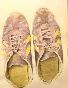 Akvarel af Emma Stender, BGK-elev.
