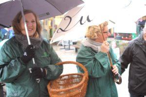 Trine Lindén og Charlotte Sahl-Madsen stemmerne for at få stemmer.