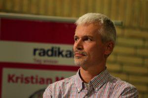 Kristian Myrhøj, Det Radikale Venstre, håber på helt nye partier i Byrådet. Det er den eneste vej til forandring.