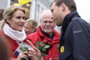 Stephan Kleinscmidt sørger for altid at blive set i sit politiske arbejde.Og det gælder om at lokke nye tilhængere til Slesvigsk Parti.