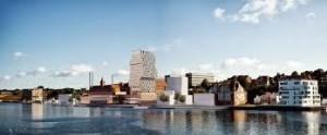 Det kommende havnehotel.