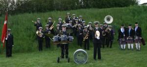Broager Brandværnsorkester skal spille til grænseoverskridende nytårskur.