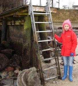 Michelle Thrane kunne opleve, der manglede vand i Alssund.