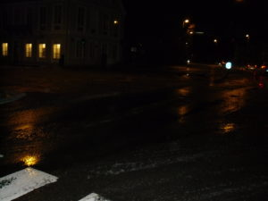 Klokken 06:20 var der glatte veje i Sønderborg.