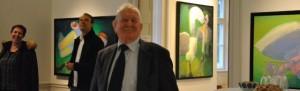 Ferniseringer i Augustiana bliver altid besøgt af kunstelsker A. P. Hansen.
