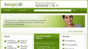 Det er vist om at komme online. Foto: Screenshot borger.dk