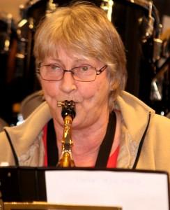 Karin Nygaard er glad for, hun kan glæde andre med musikken.