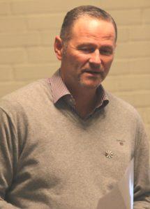Ole Stenshøj er formand i Stafet for Livet.