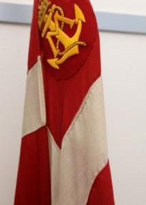 Marineforeningen flager med splitflag.
