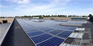 Sønderborg Forsyning solcelleanlæg på taget