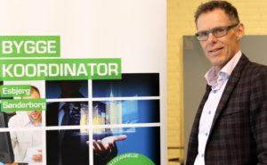 Jens Høffner forklarede den nye Byggekoordinator-uddnnelse.
