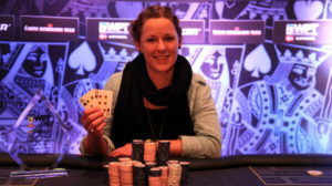 Mette Louise Christiansen vandt godt en halv million kroner tirsdag aften.