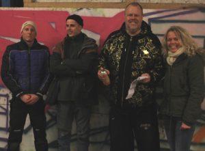 Tommi Ulderup, Andreas Weling, L'Ron Harald og Mette Lauridsen. Foto: Ole Kæhler