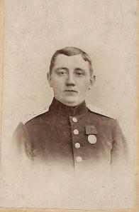 Peter Laue Petersen, soldat fra Sønderborg.