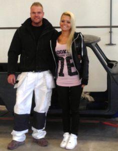 Allan Damm og Nina Eriksson.