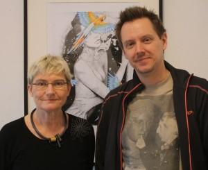 Inger Hoffmann og Thomas Lunau vil BGK-eleverne det bedste.