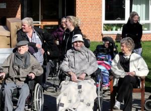 Som tilskuer kan der sagtens tages del i glæden - og der blev snakket om dengang, hvor de ældre selv cyklede i hverdagene.