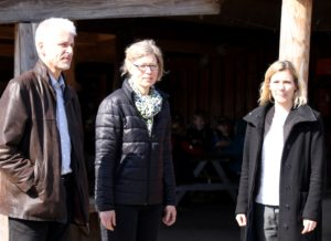 Kristian Myrhøj, Mette Bønning Petersen og Lotte Rod.