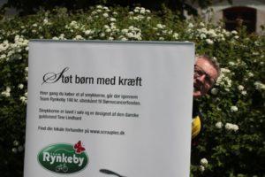 Bjarne Vejsnæs står bag flere initiativer, der i sidste ende hjælper kræftramte børn og deres familier.