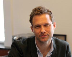 Stephan Kleinschmidt begyndte mandag på sit nye job i Kiel.
