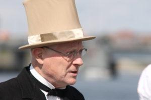 Hilmar Finsen var selv i København ved krigens afslutning.