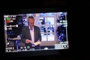 Peter Tudvad blev optaget til TV Syd