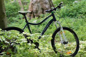 Mountainbiken her er designet til kvinder, så send bare kæresten afsted efter en.
