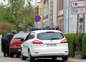 Bilister i Alsgade blev vinket ind i Damgade.