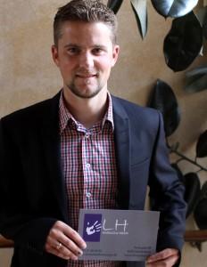 Tommy Prokopek er glad for det nye samarbejde med LH Massage.