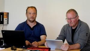 René Michael Kanne og Kaj Villddsen er sammen om City It.