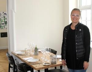 Pia Bartholin er glad for at kunne byde velkommen til gæster, der sætter pris på en god kvalitets-oplevelse.