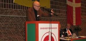 Finn Slumstrup siger farvel efter ni år som formand.