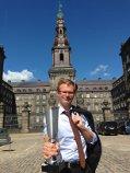 Benny Engelbrecht fik prisen overrakt på Christiansborg.