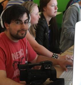 Bobby Larsson blev styrket i drømmen om en multimedie-uddannelse.