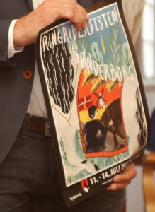 27-årig studerende står bag årets Ringriderplakat.
